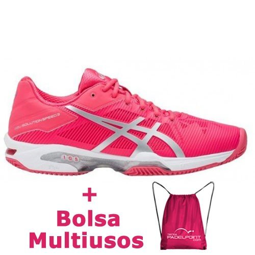 810d8797a0 -23% Asics Gel Solution Speed 3 Clay Rouge Red - Barata Oferta Outlet