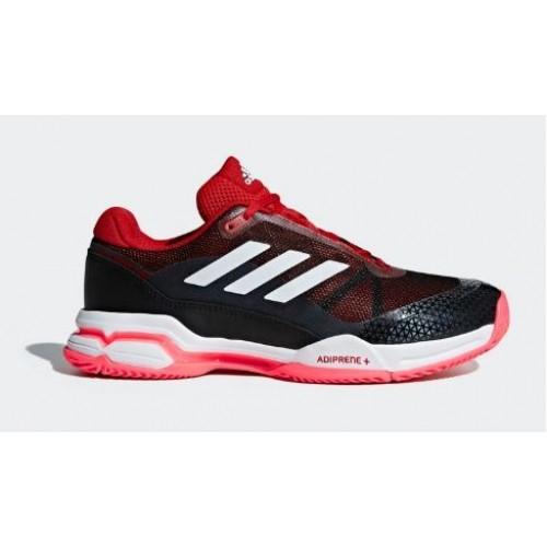 ahorrar 215ca c86e0 Sapatos Adidas Barricade clube Scarlet/Ftwr branco / preto Core
