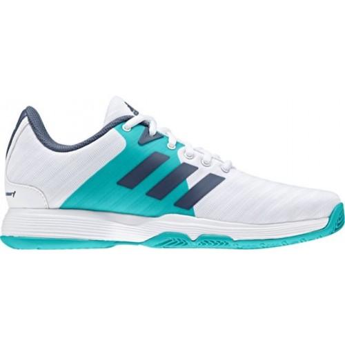 cbbd322821e -17% Zapatillas Adidas Barricade Court W White-Aqua - Barata Oferta Outlet