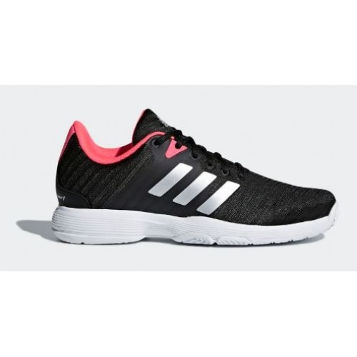 66ac55c4f54 -17% Shoes Adidas Barricade Court W Core Black/Pink - Barata Oferta Outlet