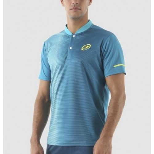 Camiseta Argente Verde Azulado Bullpadel - Barata Oferta Outlet