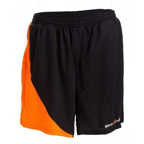 Short Black Crown Ball Negro-Naranja - Barata Oferta Outlet