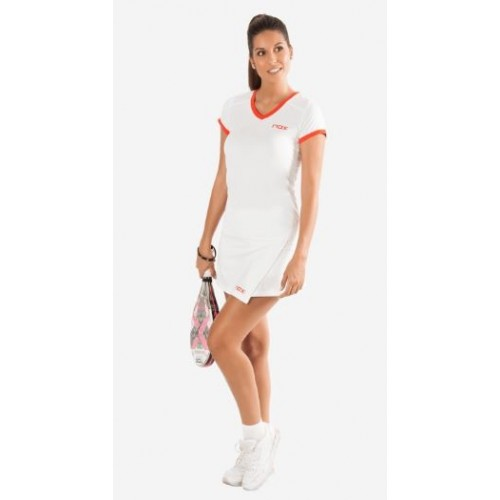 Nox Team t-shirt red Logo white - Barata Oferta Outlet