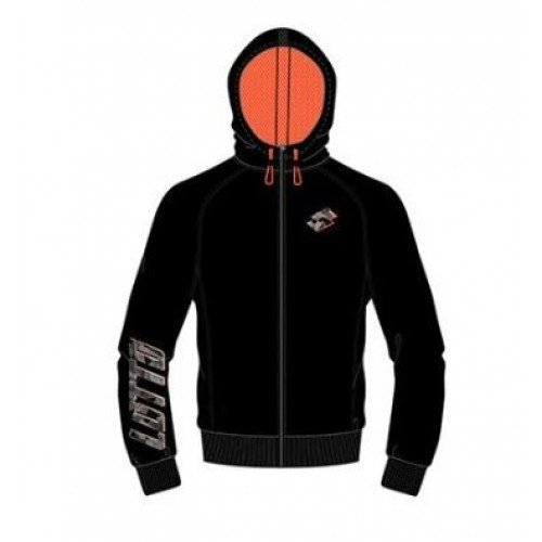 Chaqueta Lotto Devin VII Sweat Negra - Barata Oferta Outlet
