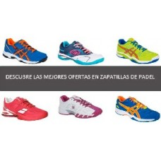 Offres chaussures paddle femme | PADELPOINT + prise pas cher