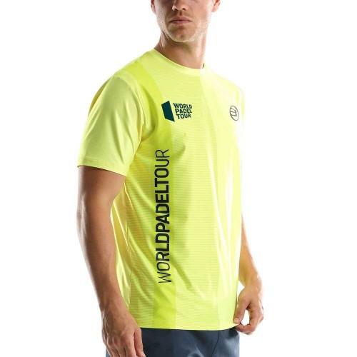 Camiseta Bullpadel WPT Tugo Amarillo Limon Fluor