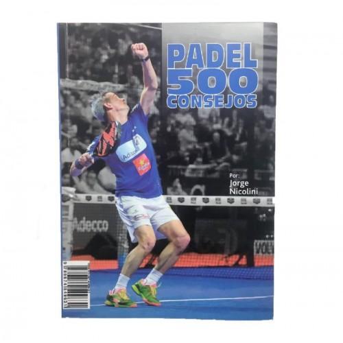 Libro de Padel Jorge Nicolini 500 Consejos