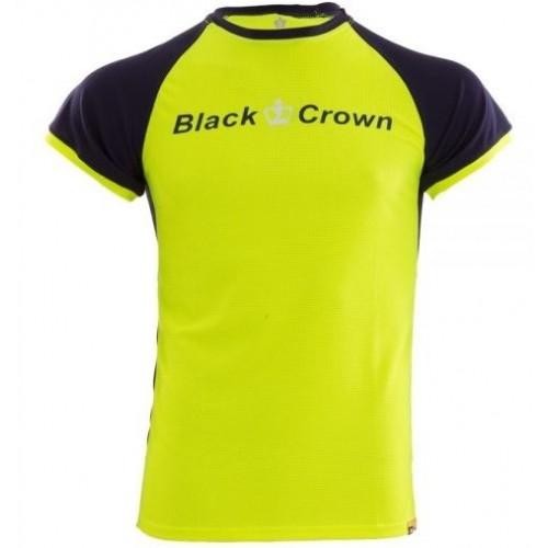 Camiseta Black Crown X5 Amarillo Marino Junior