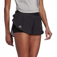Short Adidas New York Negro Mujer