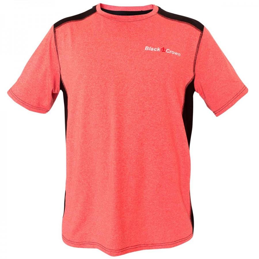 Camiseta Black Crown Gel Coral