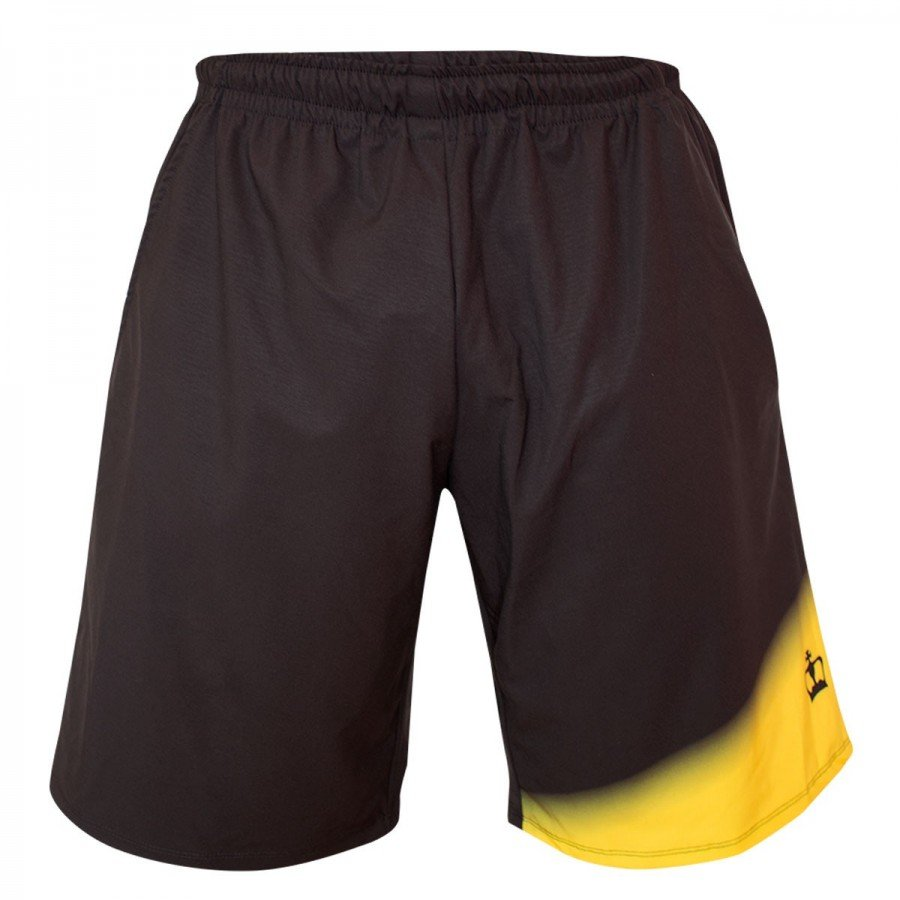Short Black Crown Tour Negro Amarillo