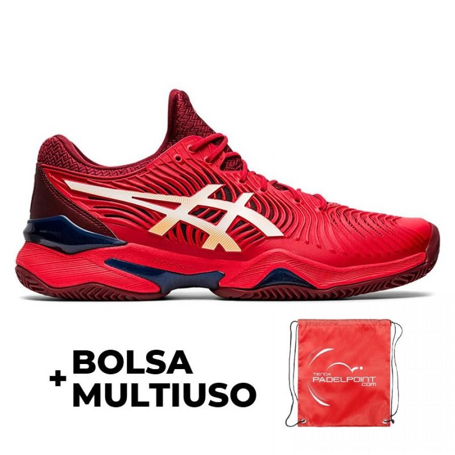 Zapatillas Asics Court FF 2 Rojo - Barata Oferta Outlet