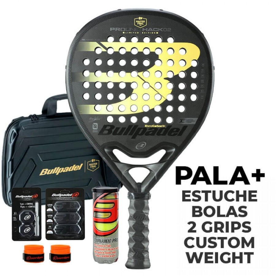 Pala Bullpadel Paquito Navarro Hack Master Final - Barata Oferta Outlet