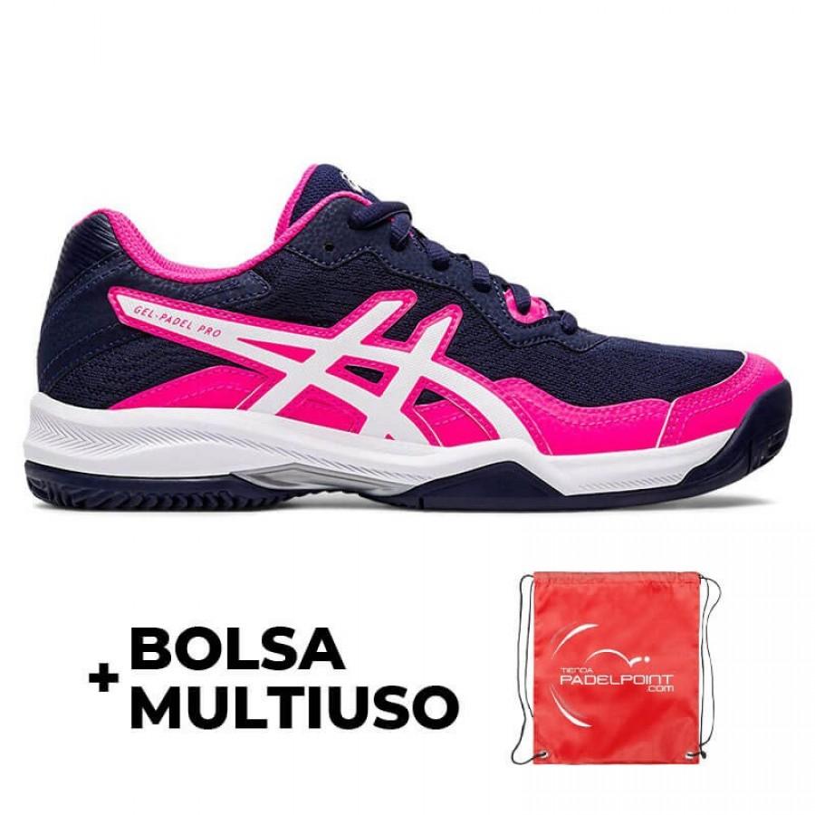 Zapatillas Asics Gel Padel Pro 4 Peacoat Blanco Mujer - Barata Oferta Outlet