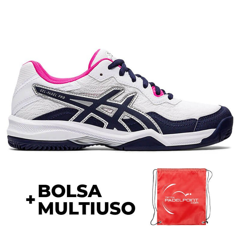 Zapatillas Asics Gel Padel Pro 4 Blanco Peacoat Mujer ...