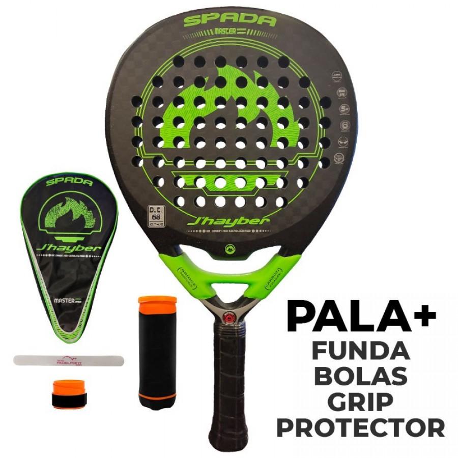 Pala JHayber Silingo Spada 7.4 Verde - Barata Oferta Outlet
