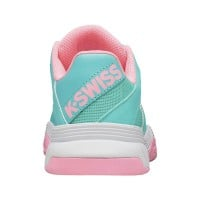 Zapatillas Kswiss Court Express Turquesa Rosa Junior - Barata Oferta Outlet