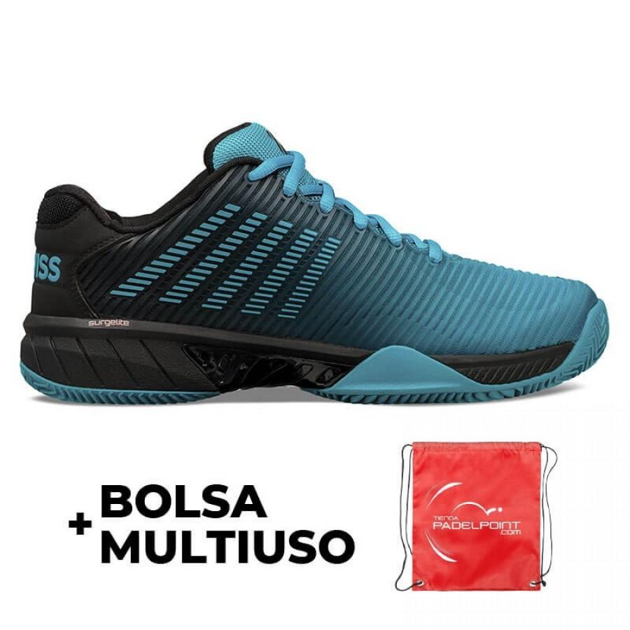 Zapatillas Kswiss Hypercourt Express 2 HB Azul Negro - Barata Oferta Outlet