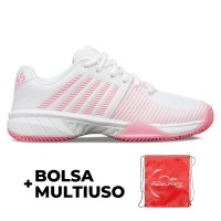 Zapatillas Kswiss Express Light 2 HB Blanco Rosa - Barata Oferta Outlet
