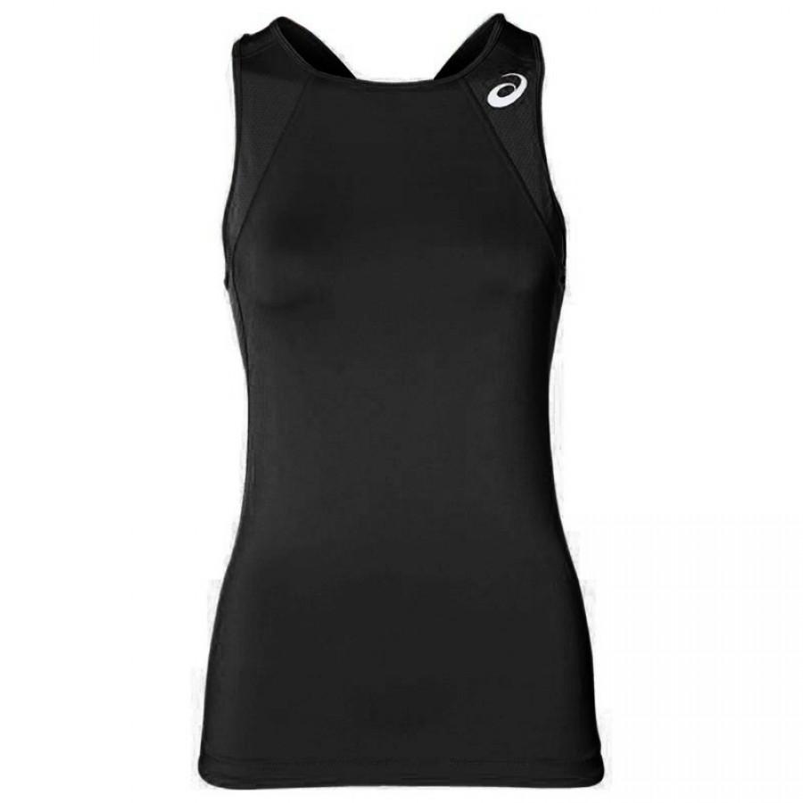 T-shirt Noir Asics Gel-Cool - Barata Oferta Outlet