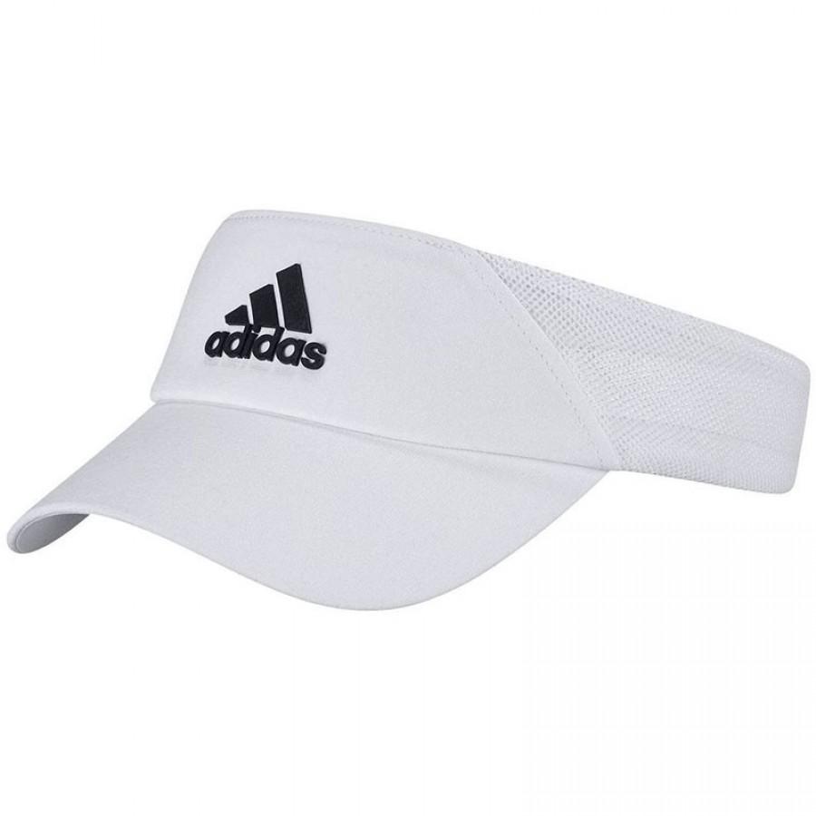 Viseira branca pronta aeroaerós da Adidas - Barata Oferta Outlet