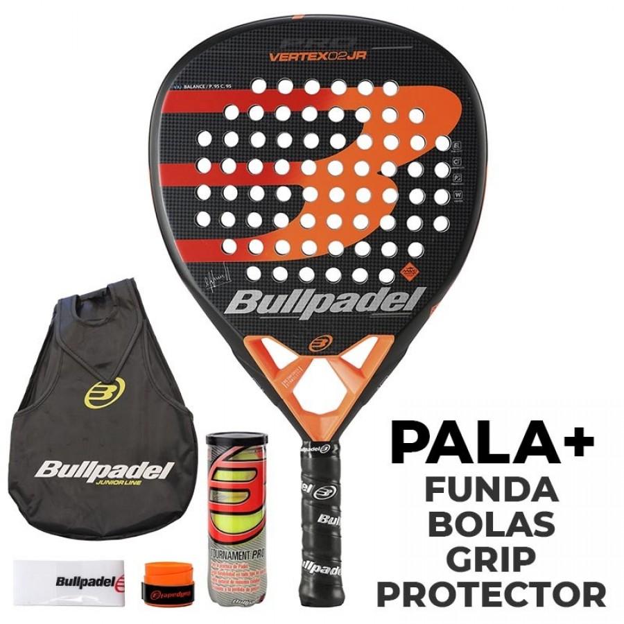 Pala Bullpadel Vertex 02 Junior 2020 - Barata Oferta Outlet