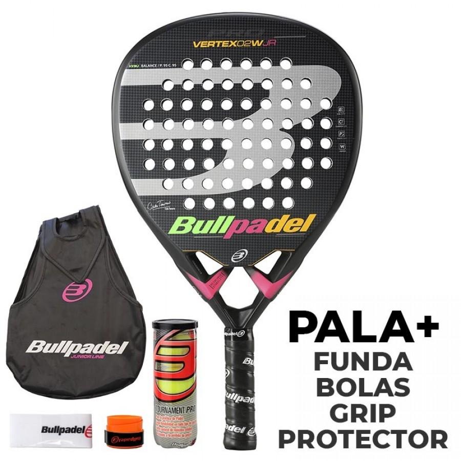 Pala Bullpadel Vertex 02 Junior Girl 2020 - Barata Oferta Outlet
