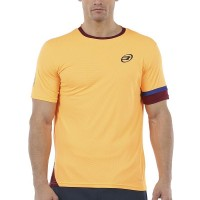 Camiseta Bullpadel Carpeter Mandarina Fluor