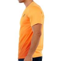 Camiseta Bullpadel Cenegui Mandarina Fluor