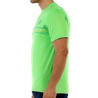 Camiseta Bullpadel Caicedo Limon Fluor