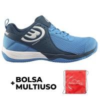 Zapatillas Bullpadel Bemer Azul Marino Real - Barata Oferta Outlet