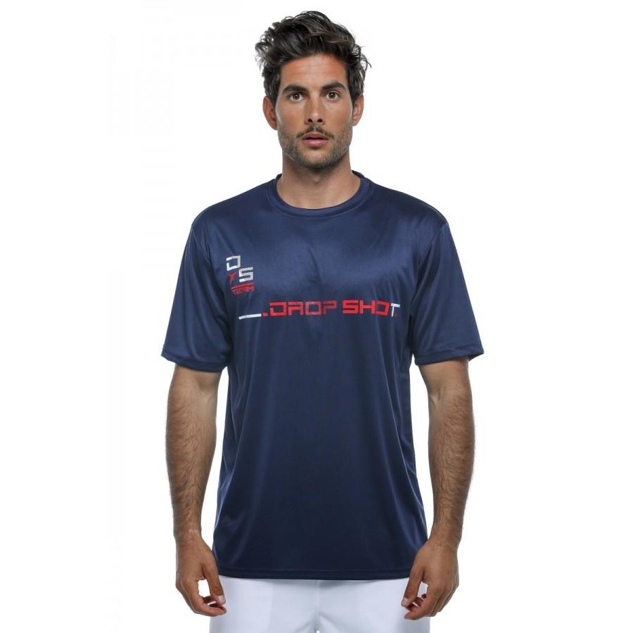 Camiseta Drop Shot Team 19 Marino Rojo