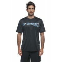 Camiseta Drop Shot Team 20 Negro Azul