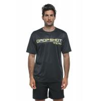 Camiseta Drop Shot Team 20 Negro Amarillo