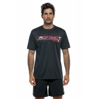 Camiseta Drop Shot Team 20 Negro Rojo