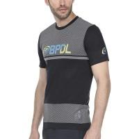 Camiseta Bullpadel WPT Rezmon Gris Oscuro Bicolor