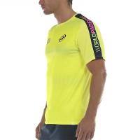 Camiseta Bullpadel WPT Sansevi Amarillo Azufre Fluor
