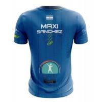 Camiseta Bullpadel Maxi Sanchez Artigas Azul 2020