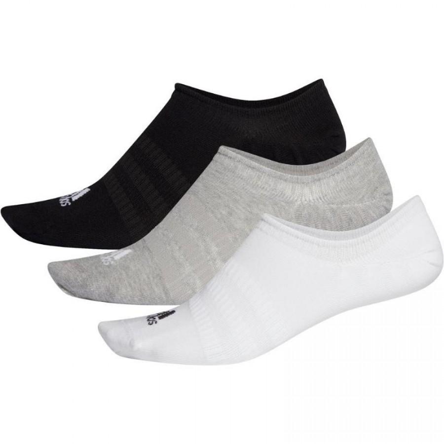 Calcetines Adidas Light Nosh Colores 3 Pares