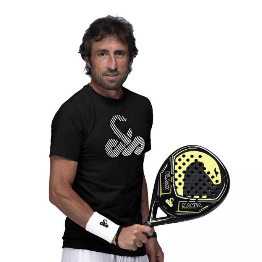 Camiseta Algodon Vibora Gariba Negro