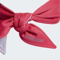 Banda Adidas Aero Ready Reversible Power Rosa Gris