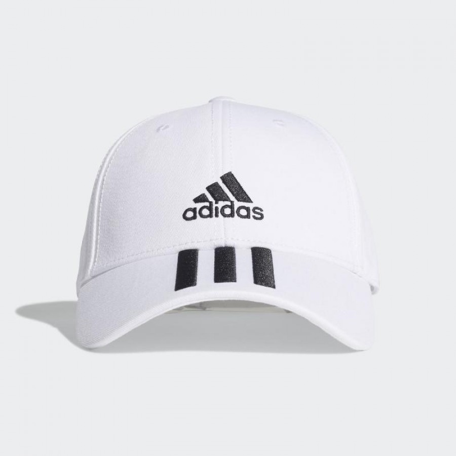 Gorra Adidas BaseBall 3 Stripes Blanco