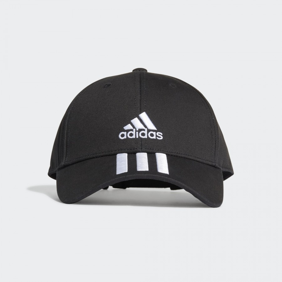 Gorra Adidas BaseBall 3 Stripes Negro