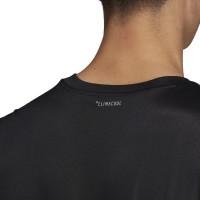 Camiseta Adidas Club 3 Stripes Negro