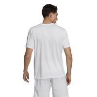 Camiseta Adidas Club 3 Stripes Blanco
