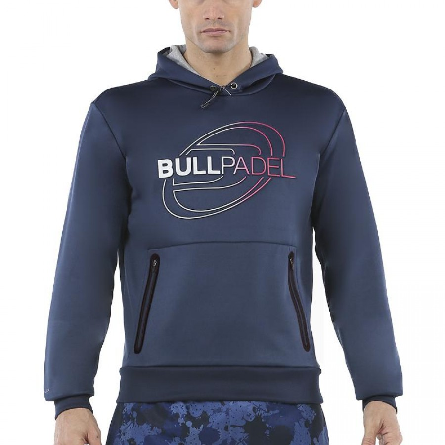 Sudadera Bullpadel Ramzi Azul Marino
