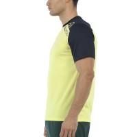 Camiseta Bullpadel Urkita Amarillo Azufre Fluor