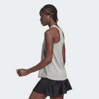 Camiseta Algodon Adidas US Open Gris