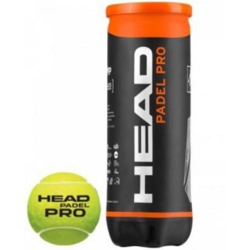 Pelotas de Padel HEAD PADEL PRO 1 BOTE