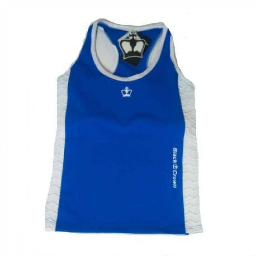 PADDLE BLACK CROWN T-SHIRT CLOTHING BONN BLUE - Barata Oferta Outlet